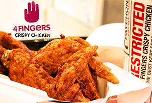 Order Chicken from 4Fingers, Popeyes, Nando's & more
