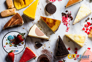 Created by award-winning pâtissier Daniel Tay (founder of Bakerzin), we bake the best gourmet cheesecakes and deliver them to your door.