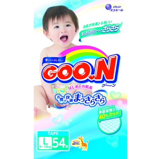 GOO.N Diapers L54 x 4 Packs