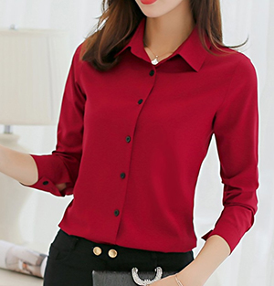 Korean-style Top (Red wine)