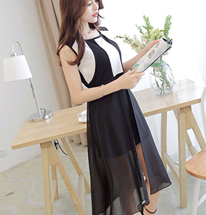 Knitted Slim Fit Dress