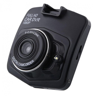 Mini Car DVR Recorder HD (Black)
