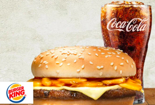 One Single Mushroom Swiss Beef Burger & Coke for only $6! While stocks last!
