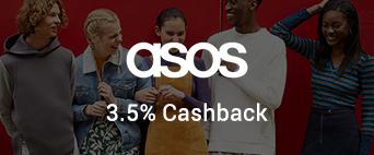 ASOS  3.5% Cashback