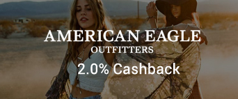 American Eagle Outfitters 2.0% Cashback