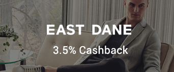 East Dane 3.5% Cashback