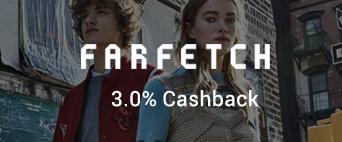 Farfetch 3.0% Cashback