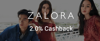 ZALORA 2.0% Cashback