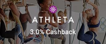 Athleta 3.0% Cashback