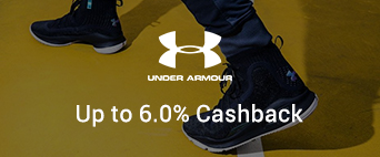 Under Armour up to 6.0% Cashback