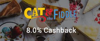 Cat & Fiddle 8.0% Cashback