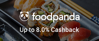 Foodpanda up to 8.0% Cashback