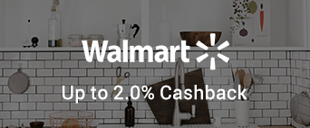 Walmart up to 2.0% Cashback