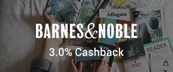 Barnes & Noble 3.0% Cashback
