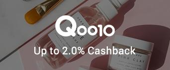 Qoo10 up to 2.0% Cashback