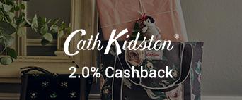 Cath Kidston 2.0% Cashback