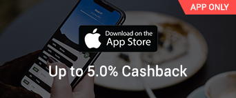App Store up to 5.0% Cashback