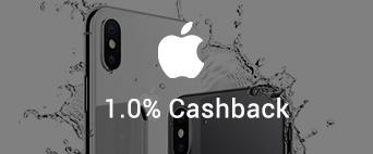 Apple Online 1.0% Cashback