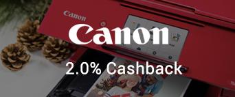 Canon 2.0% Cashback