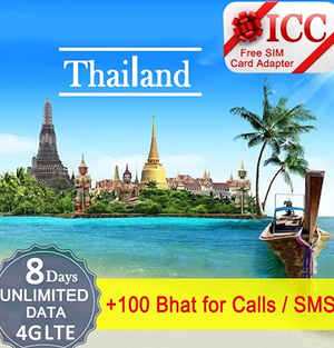 Thai 8-Day SIM Card