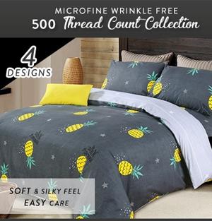 CNY Pineapple Bedsheets