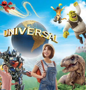 Universal Studios Singapore™ Ticket (1 Day Pass)