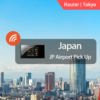 Tokyo 4G WiFi (JP Airport Pick Up)