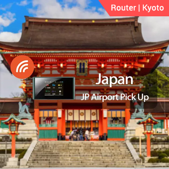 Kyoto 4G WiFi (JP Airport Pick Up)