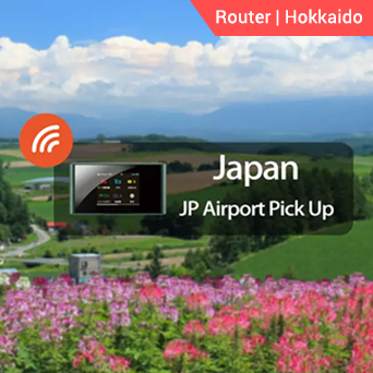 Hokkaido 4G WiFi (JP Airport Pick Up)