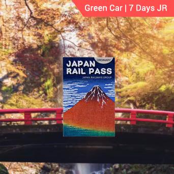 Green Car 7 days JR Pass