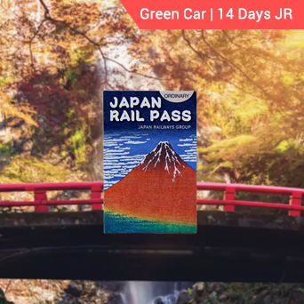 Green Car 14 days JR Pass
