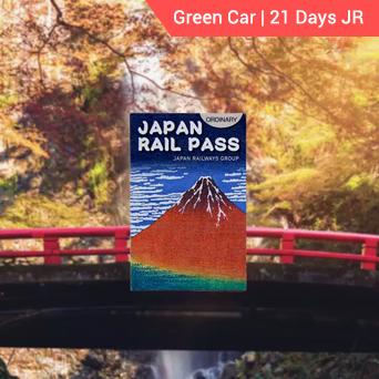 Green Car 21 days JR Pass