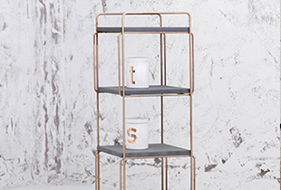 Naso (那所) Modern minimalist pieces that add a fine touch of metallic gold luxe to your decor