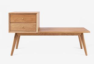 ArtDeco Bathe in zen wooden furniture that evokes a sense of calm in your everyday