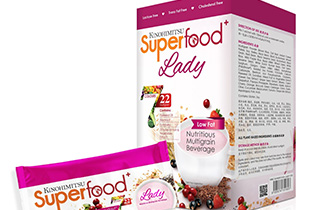Kinohimitsu Superfood+ is a delicious multigrain beverage to meet the nutritional demands of on-the-go women