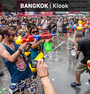 Songkran Festival Day Tour
