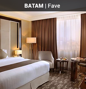 Batam: 2D1N Deluxe Room Stay