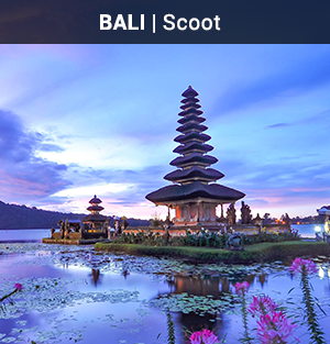 App Only: Scoot Flights to Bali
