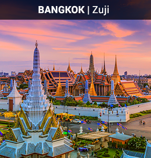 Zuji Flights Singapore to Bangkok (Return)