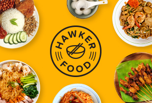 Enjoy $6 off min. spend of $15 + FREE delivery from your favourite hawker centres* from 13 April to 31 August