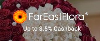 Fareastflora up to 3.5% Cashback
