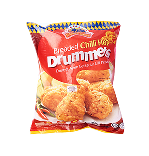 Breaded Chili Drummets