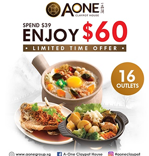 A-One $60 Cash Voucher
