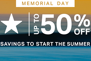 Memorial Day Up to 50% off