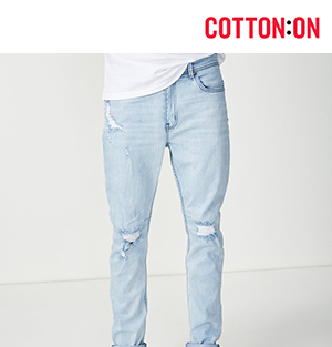 Tapered Leg Jean