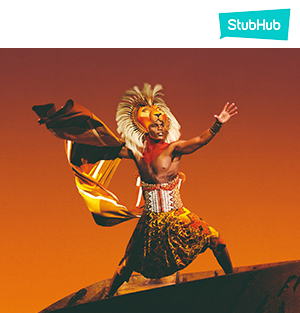 The Lion King Singapore Tickets
