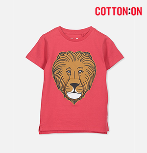 Short Sleeve Red Lion Tee