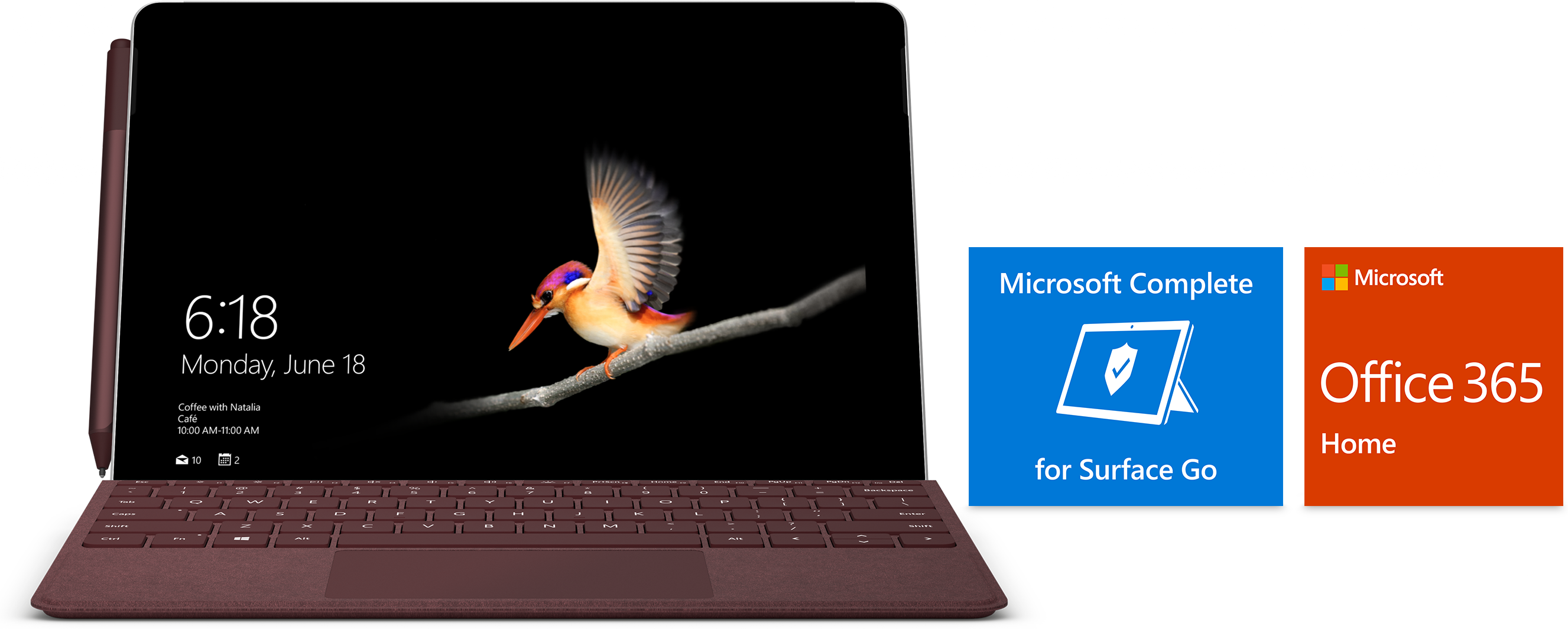 Surface Go Essentials Bundle