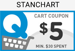 StanChart Existing Cardmembers: Redeem a $5 cart coupon when you enter the code