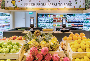 Habitat by Honestbee - A multi-sensory, tech-meets-food grocery and dining experience